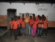The children at Nira Orphanage