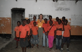 The children at Nira Orphanage