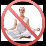 no sitting cross legged meditation