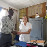 School visit in Mbagala, Tanzania